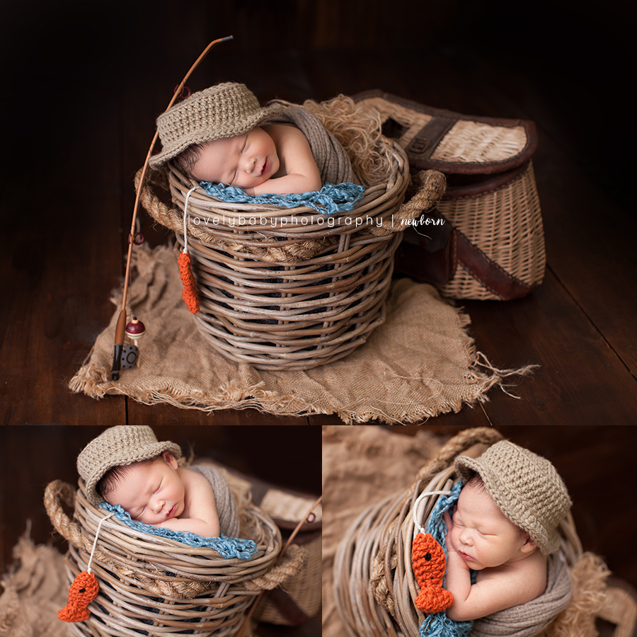 07 fishing newborn prop photography