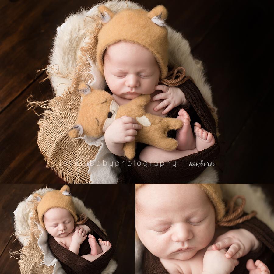 003 sacramento newborn baby boy portraits