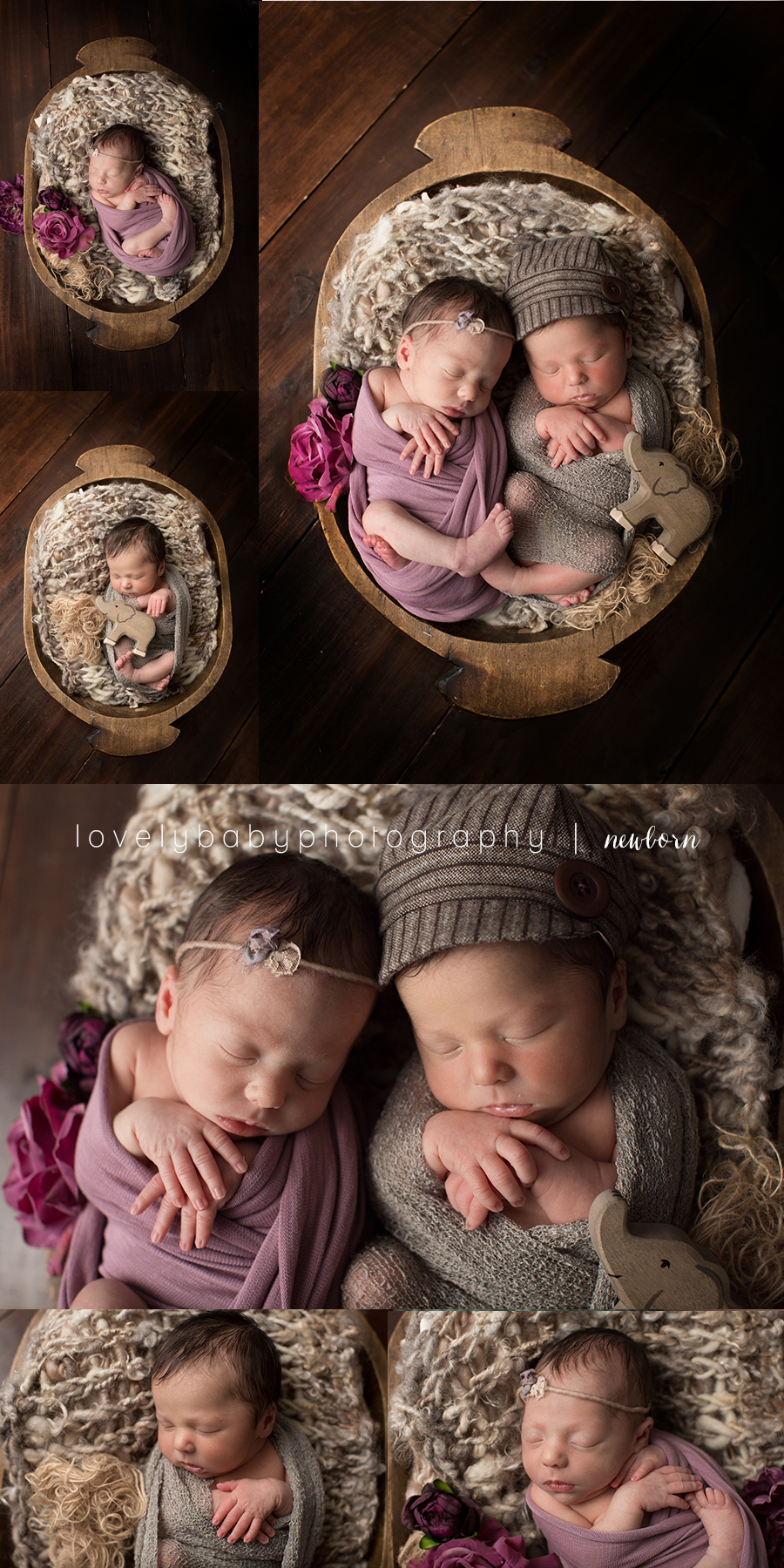 02 san diego newborn twin photography