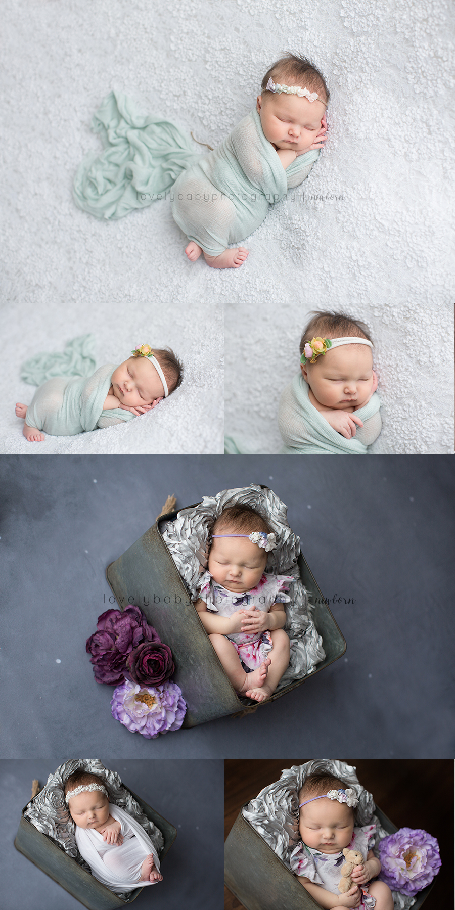 2 san diego newborn photography studio