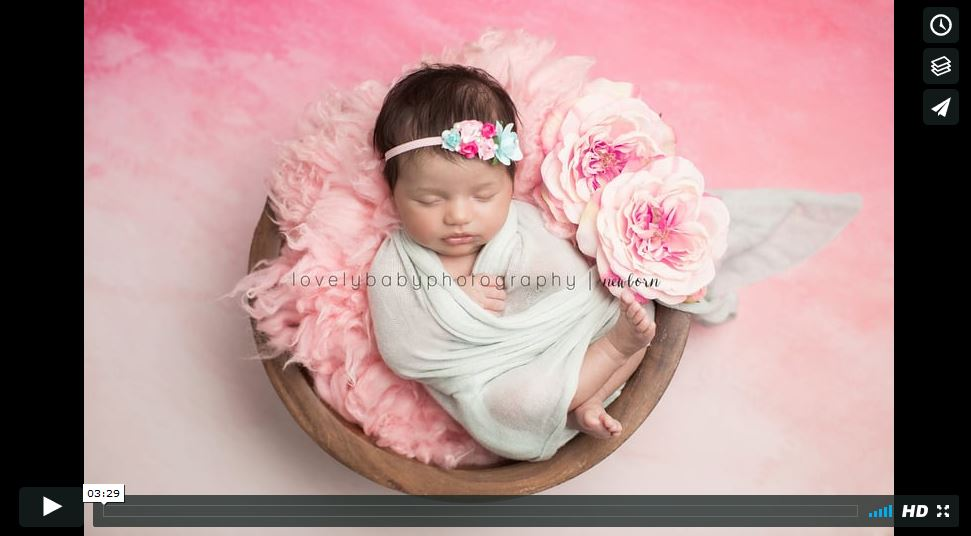 San Diego Newborn Photography - a sneak peek into the studio!