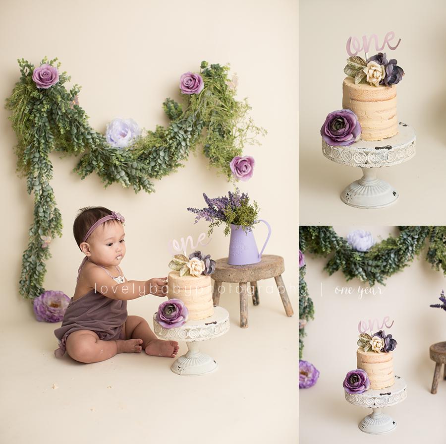 4 cake smash birthday photographer san diego