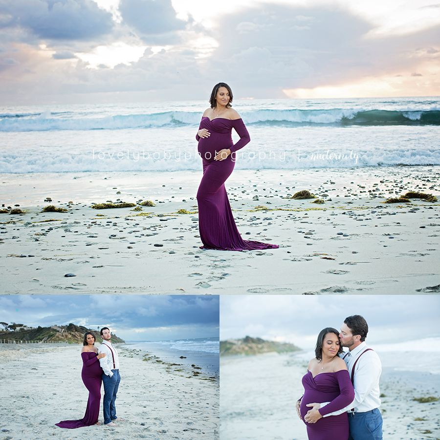 1 san diego beach maternity photography