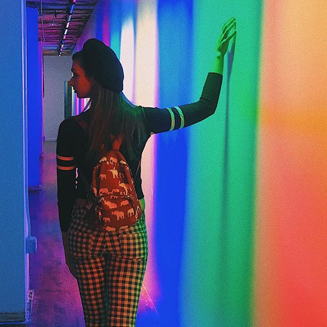 Had so much fun exploring @colorfactoryco ! I am so close to 100 followers! Thank you for the og followers who have always been there for me 🌈❤️🧡💛💚💙💜 🌈 🌈 🌈 🌈 #followers #bloggingwithpassion #colorfactory #sanfrancisco #exploresf #100 #thursday #color #rainbow #travel #city #explore #instagram