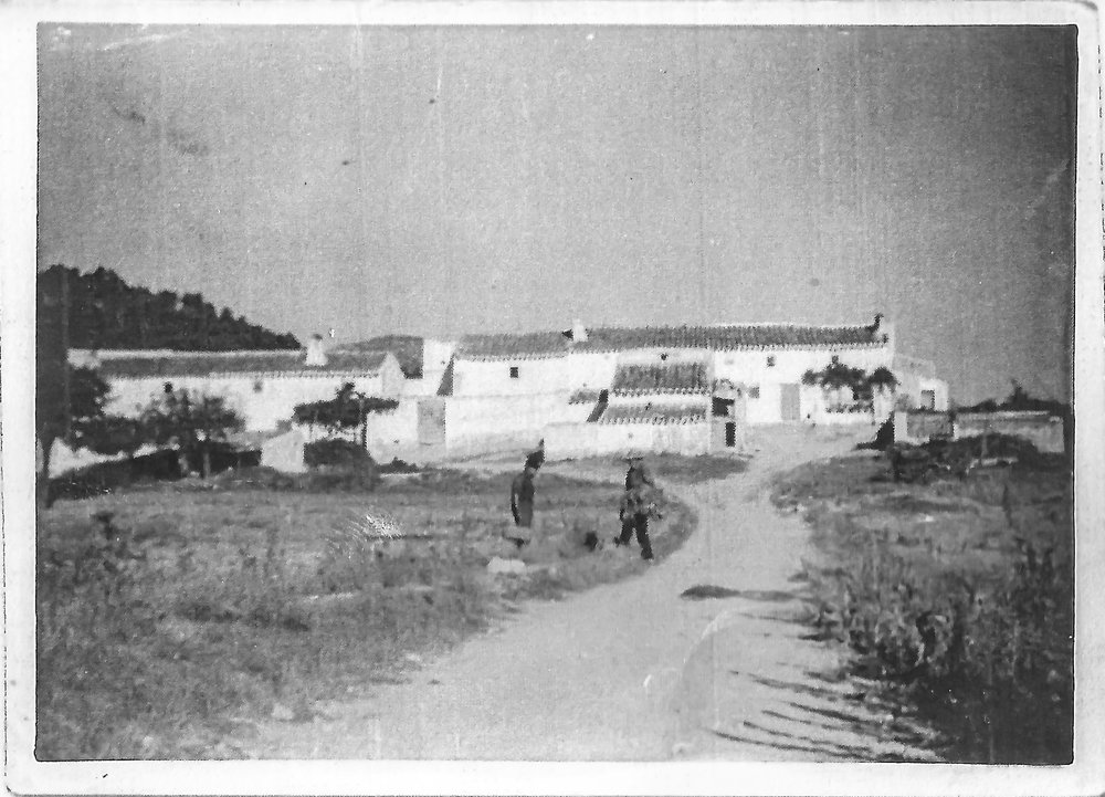 Cortijada Los Gázquez a finales de los años 60.