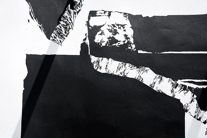 Georgia Hill / wall painting (detail) / Cortijada Los Gázquez / Joya: AiR