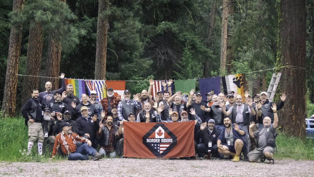 Group Photo - Victoria Day, Pine Flats Campground, Washington