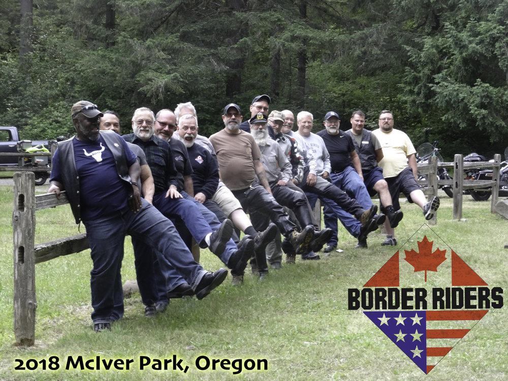 BRMC Group photo McIver State Park, Oregon