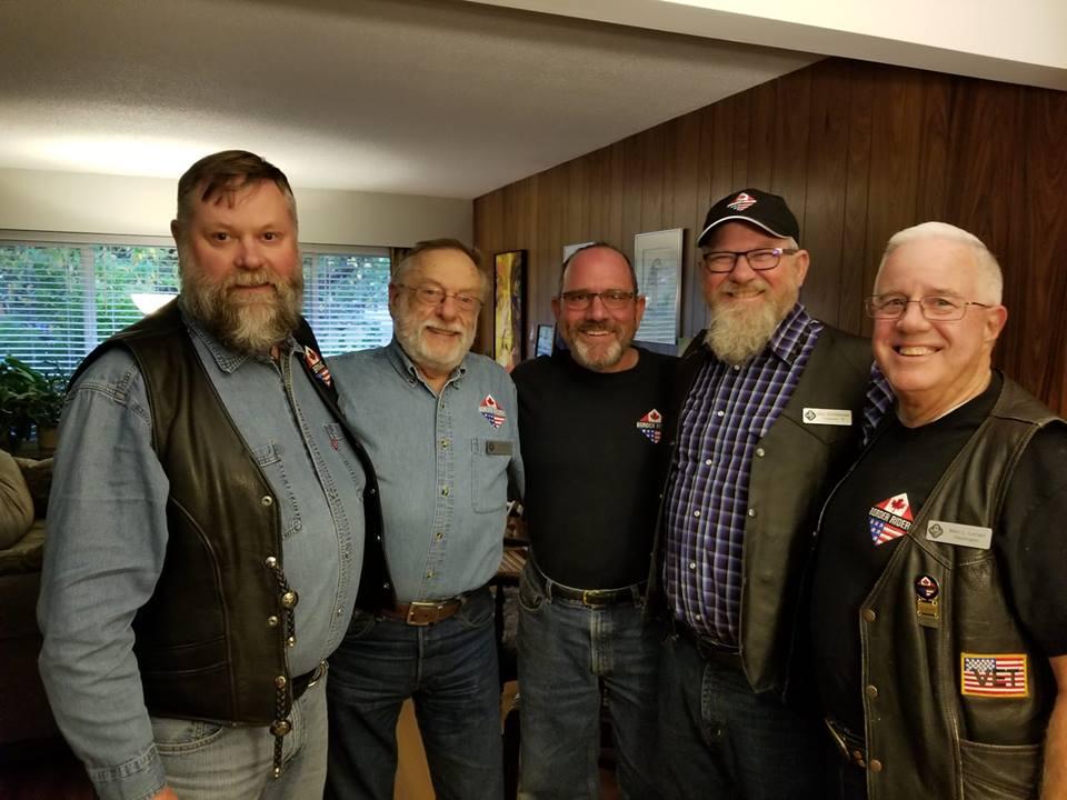 BRMC Members Jeff, John, Dennis, Stan, and Marc