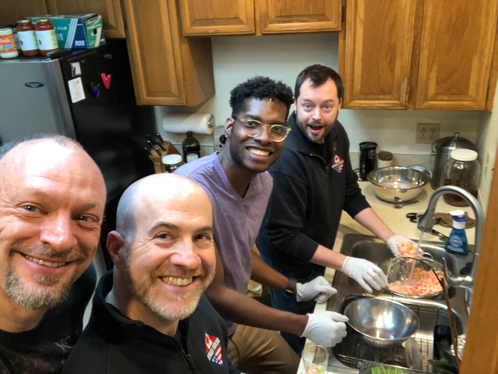 March Club Meeting @ Don's : Food prep!