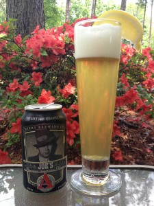 Shandy with Avery Brewing Joe's Pilsner