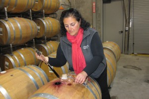 Elizabeth Vianna, winemaker and GM of Chimney Rock Winery, Napa Valley