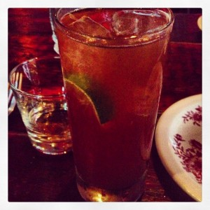 Night of the Iguana cocktail