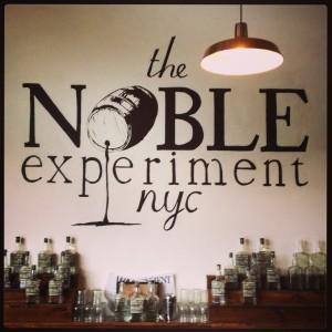 Noble Experiment Bar