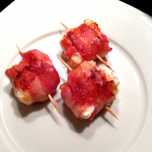 Bacon Wrapped Goat Cheese