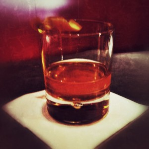 Double Rum Old Fashioned