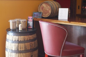 The tasting bar at Smooth Ambler