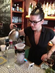Natalie Czech working her magic