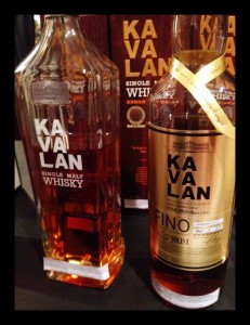 Kavalan Single Malt and Fino Cask at WhiskyFest, photo by Amanda Schuster