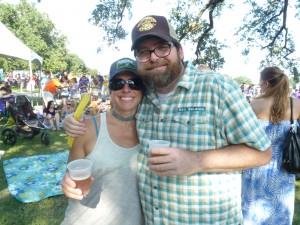 Lauren Salazar and LA NBB Ranger Todd Dudley