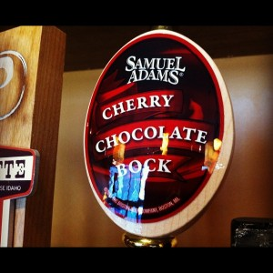 Samuel Adams Cherry Chocolate Bock, courtesy BierThirty
