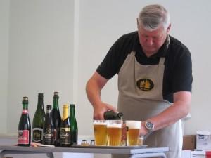 Tasting Room at Oud Beersel Brewery