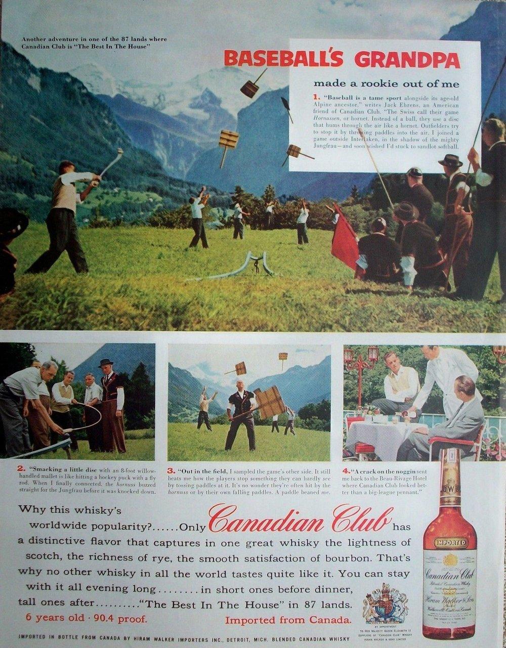 Canadian Club, 1957