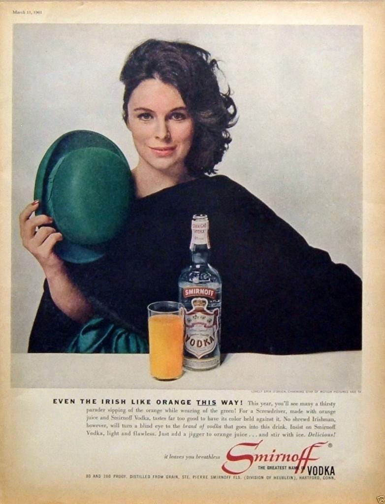 Smirnoff, 1961