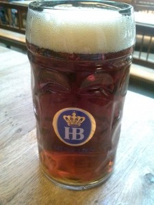 Hofbrauhaus Doppelbock, photo by Kevin Gibson