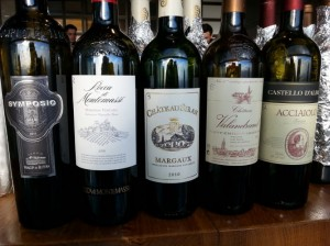 The red wines