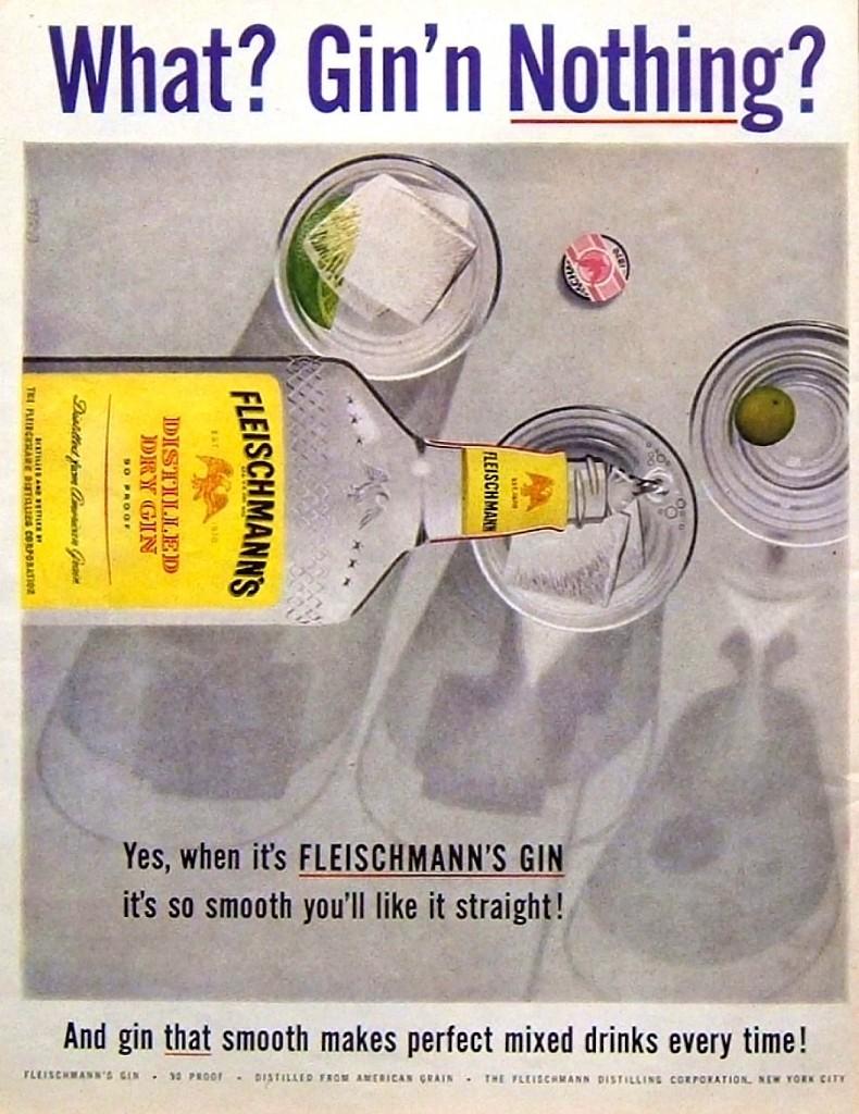 Fleischmann's, 1957