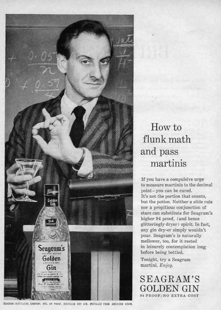 Sid Caesar for Seagram's, 1959