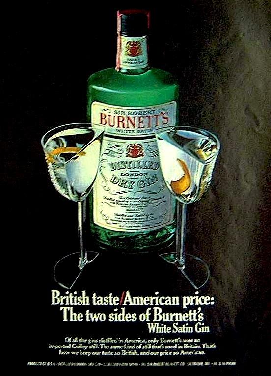 Burnett's White Satin, 1979