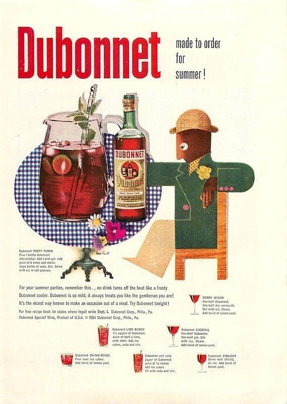 Dubonnet, 1954