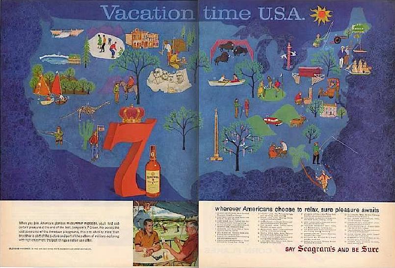 Seagram's, 1959
