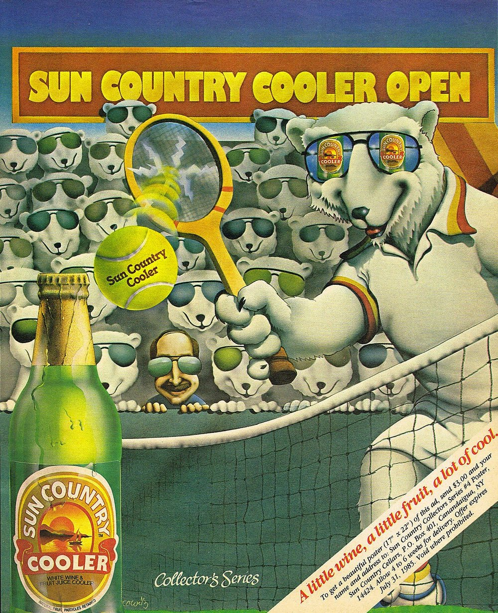 Sun Country Wine Coolers, 1985