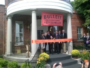 bulleit ribbon cutting