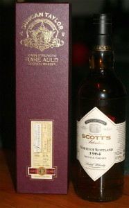 Duncan Taylor Rare Auld and Scott's Selection north of scotland