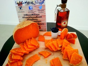 Four Roses Yellow Label and Mimolette