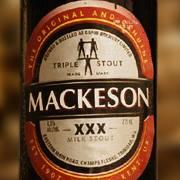 Mackeson bottle