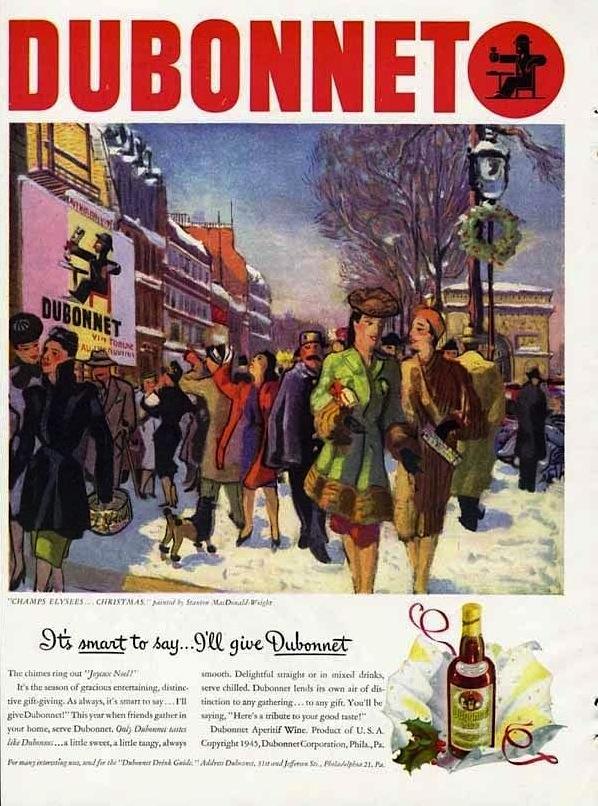 Dubonnet, 1945