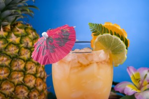 Most popular cocktails series - Mai Tai