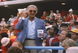 Bob Uecher not drinking a Bud Light