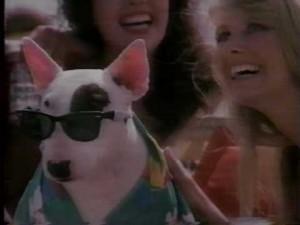 classic Spuds Mackenzie Bud Light ad