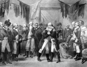 Washington's Farewell by Alonzo Chappel, 1886
