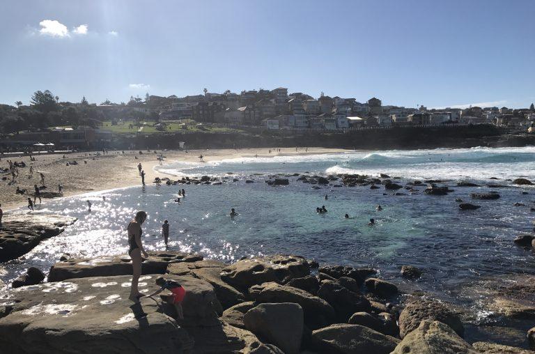 beach in Sydney, photo by Sharyn Foulis