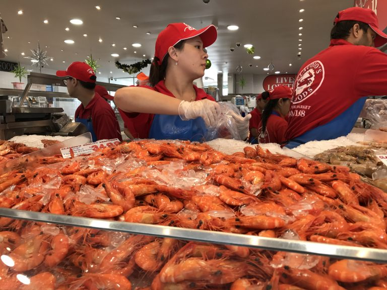 Sydney fish market, photo by Sharyn Foulis