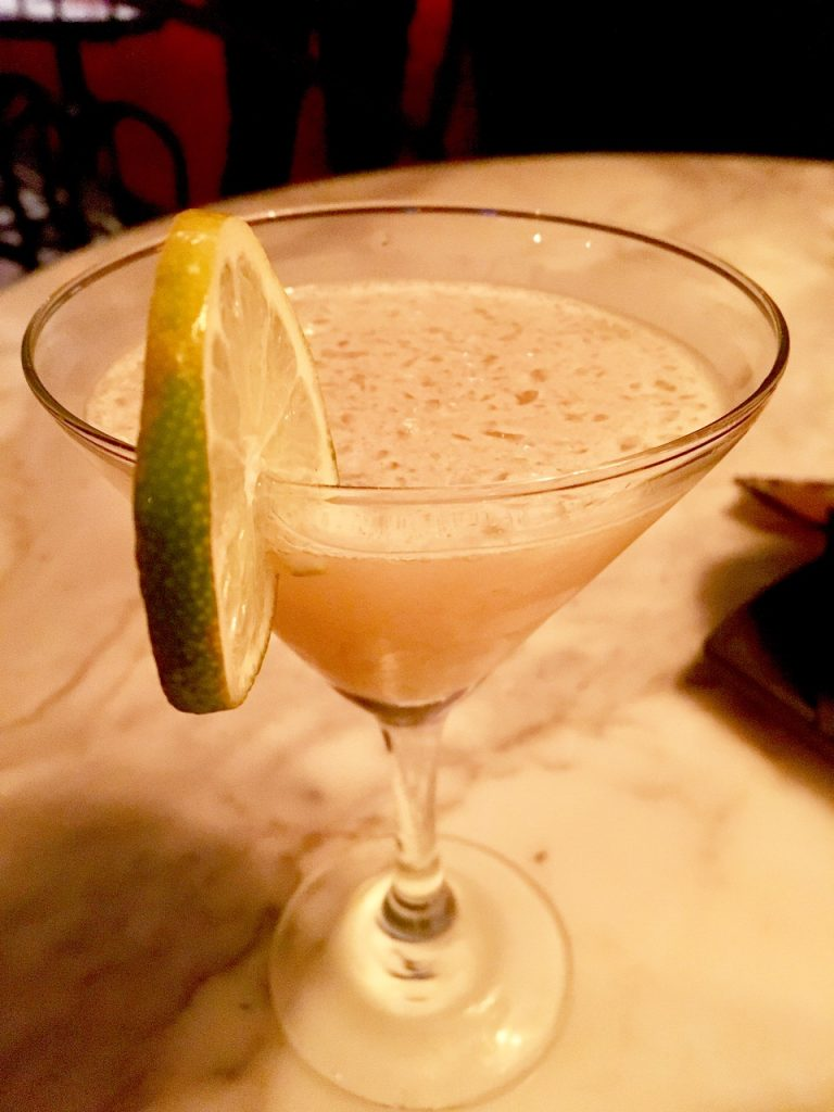 Calle Dao Daiquiri with rum and sweet-spiced syrup, photo by Jackie Summers