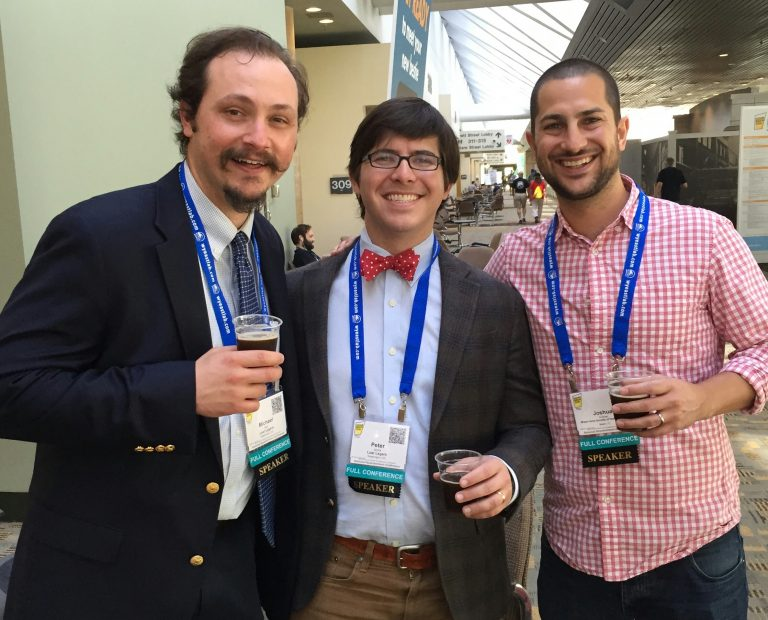 (L-R) Mike Stein, Peter Jones and Joshua Grubner of Lost Lagers