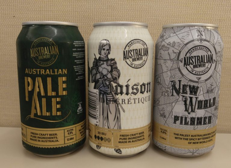 Australian Brewery Pale Ale, Saison d'Heretique and New World Pilsner are now in the U.S.
